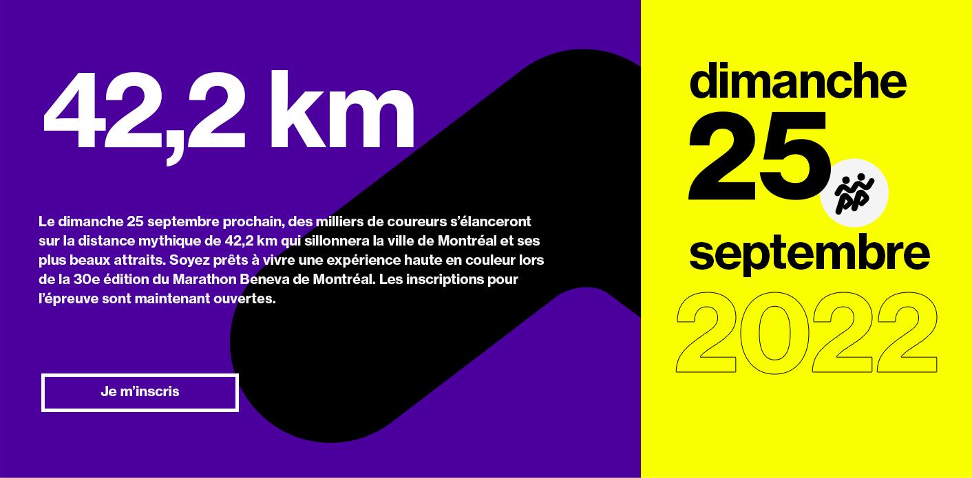 Marathon - 25 septembre
